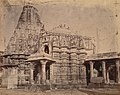Front view of the Adinatha Temple, Timba Gujarat.jpg
