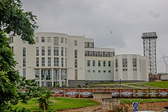 Front view of the Olusegun Obasanjo Presidential Library.jpg