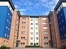 Accommodation block at Fylde College