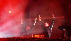 Galantis discography - The duo performing at the Coachella Valley Music and Arts Festival 2014.