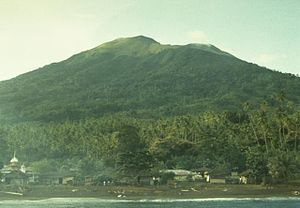 Mount Gamkonora - Mount Gamkonora in 1984