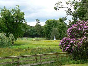 Oldmeldrum - Garden at Meldrum House Hotel