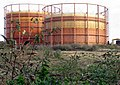 Gas Holder from Kimberley Road, London N18 - geograph.org.uk - 315911.jpg