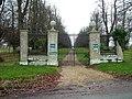 Gates and drive, Ashe Park - geograph.org.uk - 1065392.jpg