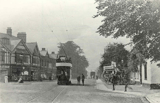 Cheadle, Greater Manchester - Gatley Road, Cheadle in 1908