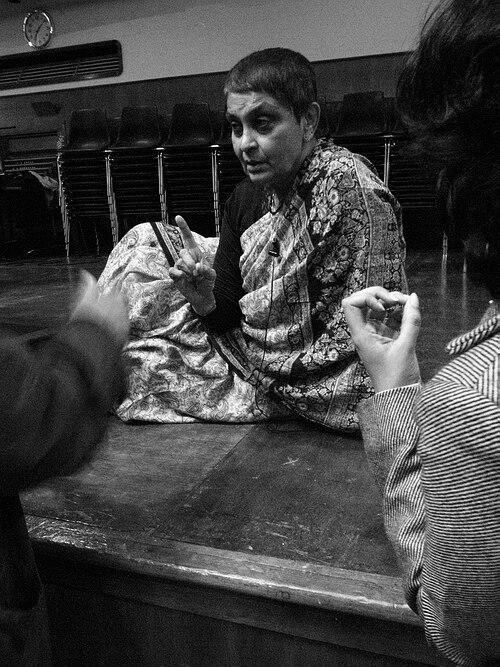 Gayatri Chakravorty Spivak at Goldsmiths College