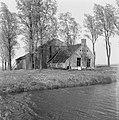 Gebouwen, boerderijen, onbewoonbaar, Haskerveenpolder, Bestanddeelnr 163-0225.jpg