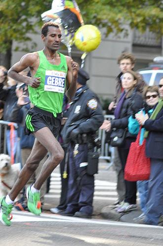 Gebregziabher Gebremariam - Gebre Gebremariam at the 2011 NYC Marathon