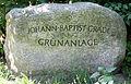 Gedenkstein Blanckertzweg 1 (Lichf) Johann Baptist Gradl.jpg