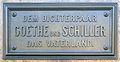 Gedenktafel Theaterplatz (Weimar) Friedrich Schiller.jpg