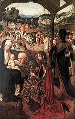 Geertgen tot Sint Jans - Adoration of the Magi - WGA08512.jpg