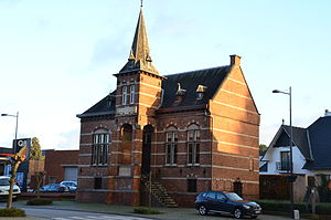 Laakdal - Image: Gemeentehuis Eindhout