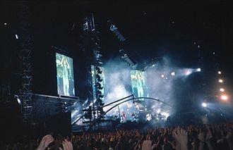 Concierto de Genesis en Nizza, Francia, Julio de 1992