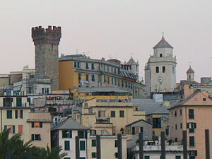 Florida International University School of Architecture - Santa Maria di Castello in Genoa, the location of the FIU School of Architecture's study abroad facilities
