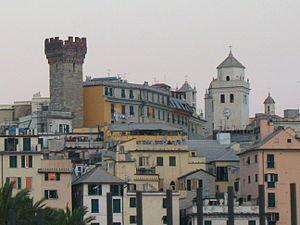 Florida International University School of Architecture - Santa Maria di Castello in Genoa, the location of the FIU School of Architecture's study abroad facilities