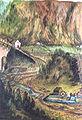 Georgenberg, avalanche 1689 ('Pergamentcodex', before 1704).JPG