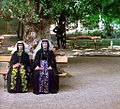 Georgian women on holiday in Borjomi.jpg