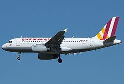 Airbus A319-100 der Germanwings