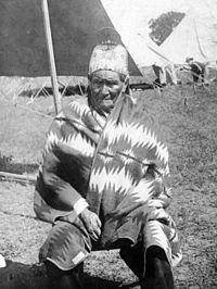 Geronimo roku 1909 jako americký zajatec