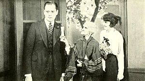 Get-Rich-Quick Wallingford (1921 film) - Still with Sam Hardy and Doris Kenyon