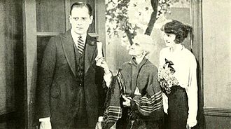 Sam Hardy (actor) - Sam Hardy and Doris Kenyon (at right) in Get-Rich-Quick Wallingford (1921)