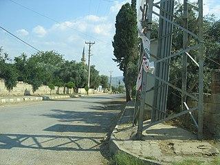Geyre Town in Aydın Province, Turkey