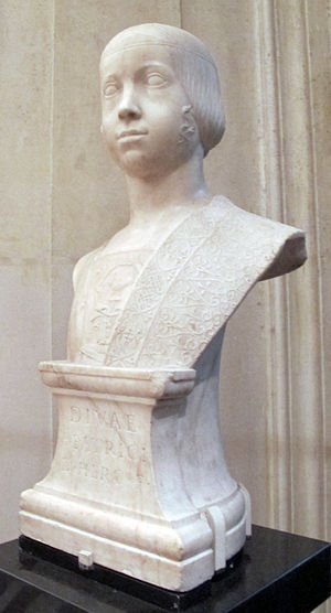 Beatrice d'Este - Image: Gian cristoforo romano, beatrice d'este, 1490 ca. 2