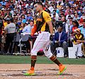 Giancarlo Stanton competes in semis of '16 T-Mobile -HRDerby. (28574677735).jpg