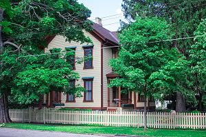 Montcalm County, Michigan - Image: Giles Gilbert House