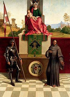 Altarpiece by Giorgione