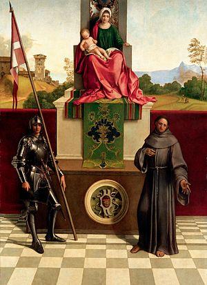 Castelfranco Madonna - Image: Giorgione Pala di Castelfranco