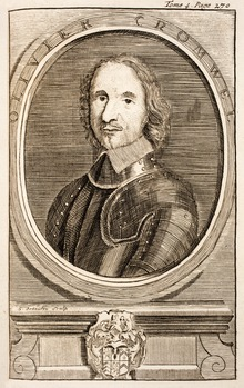 oliver cromwell death