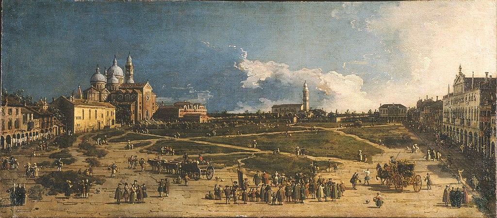 Canaletto - Prà della Valle in Padua