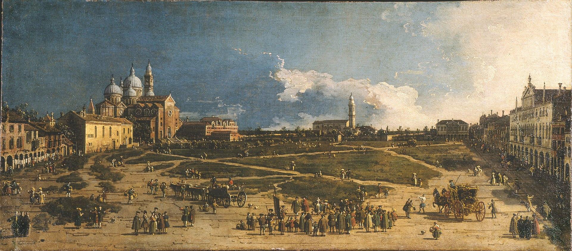 Giovanni Antonio Canal called Il Canaletto - Prà della Valle in Padua - Google Art Project.jpg