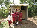 Girls VIP toilet built by pupils (5567810470).jpg