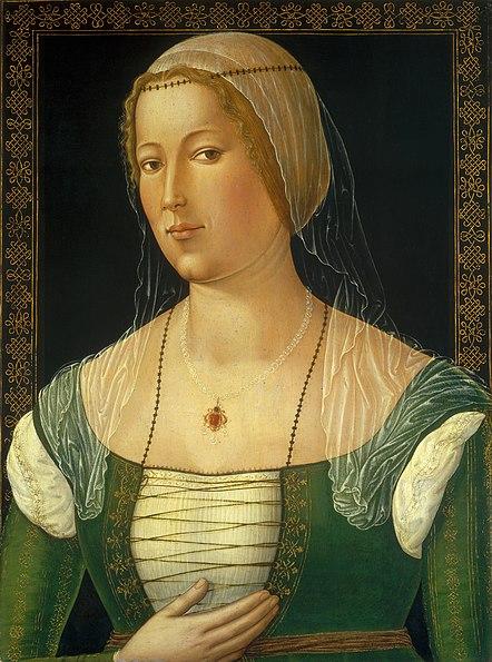 GIROLAMO DI BENVENUTO Portrait of a Young Woman c. 1508