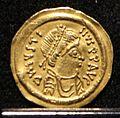 Giustino II, tremisse, 565-578.jpg