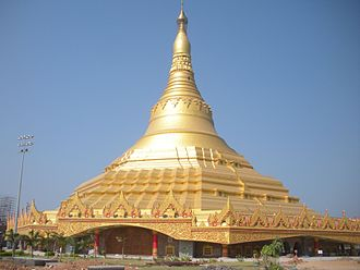 Global Vipassana Pagoda - Global Vipassana Pagoda in 2012