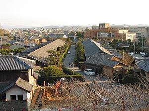 Matsusaka, Mie - Traditional street in central Matsusaka