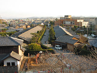 Matsusaka City in Kansai, Japan