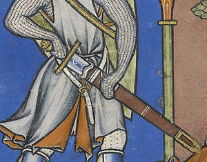 Knightly sword - Image: Goliath sword morgan bible 28v