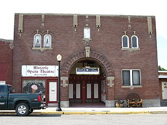 Glenns Ferry, Idaho - The Gorby Opera Theatre is one of six sites in Glenns Ferry listed on the National Register of Historic Places.