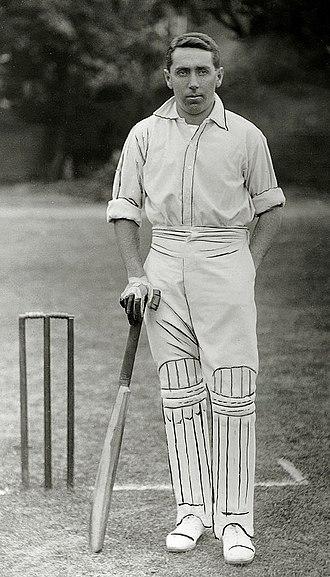 Gordon White (cricketer) - Image: Gordon Charles White c 1905