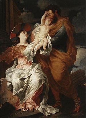 Godfried Maes - Holy Family