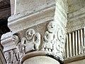 Gournay-en-Bray (76), collégiale St-Hildevert, bas-côté sud, chapiteau du 5e pilier libre, côté sud-ouest.jpg