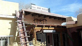 National Register of Historic Places listings in Taos County, New Mexico - Image: Governor Bent Museum, Taos