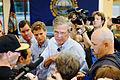 Governor of Florida Jeb Bush at TurboCam, Barrington, NH 1 on August 35th by Michael Vadon.jpg