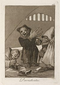 Goya - Duendecitos (Hobgoblins)