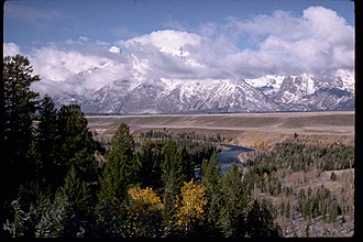 John D. Rockefeller Jr. - Grand Teton Range and Snake River