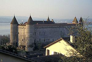 Grandson Castle - Image: Grandson Schloss 1